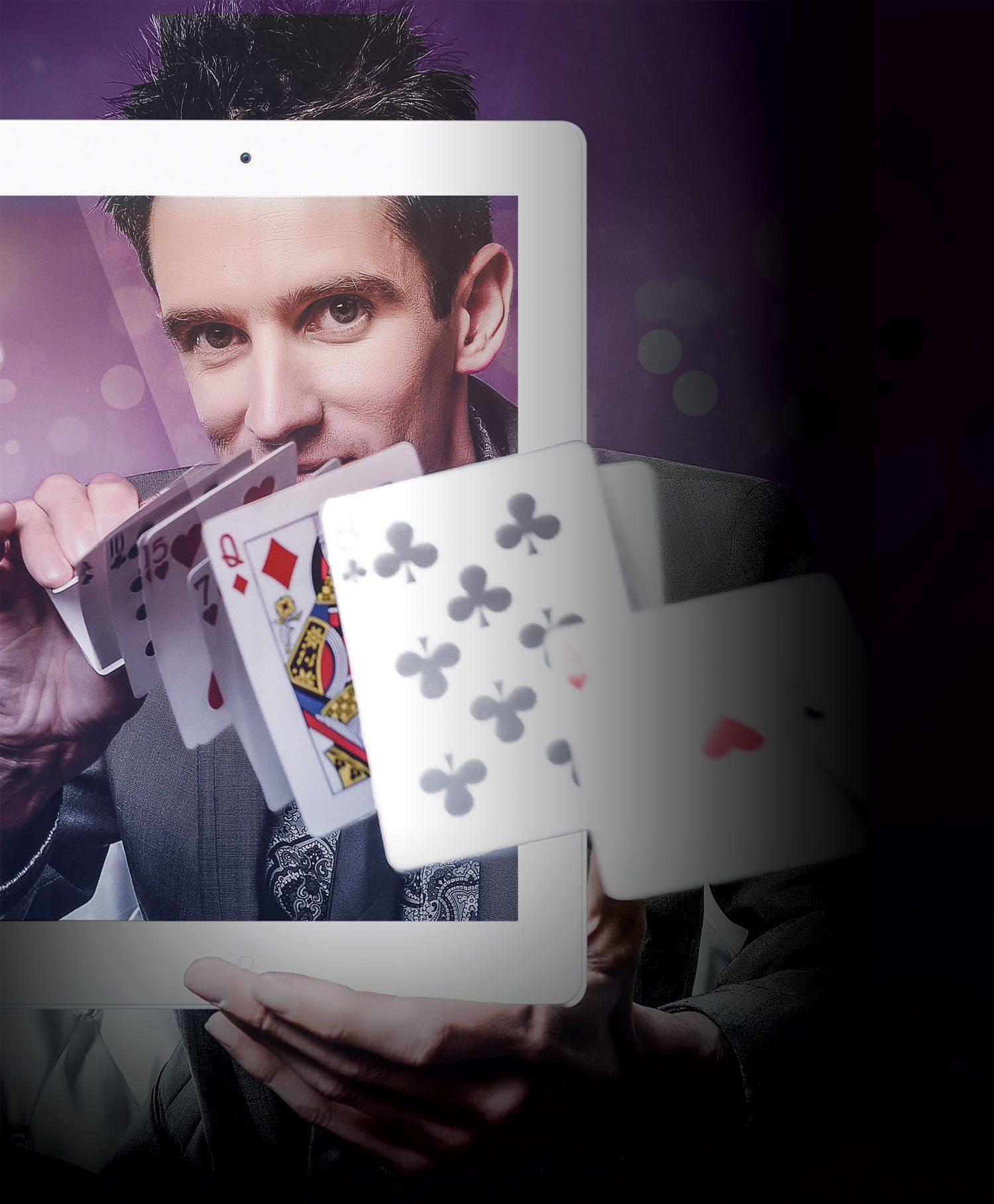 iPad Magician Keelan Leyser