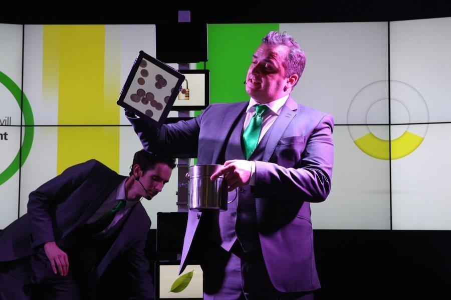 Matt Daniel-Baker ipad magician