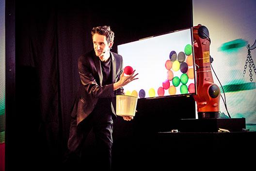 tech magician Keelan